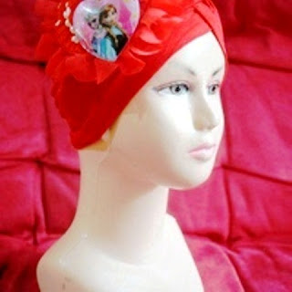 Model Turban Bayi Frozen