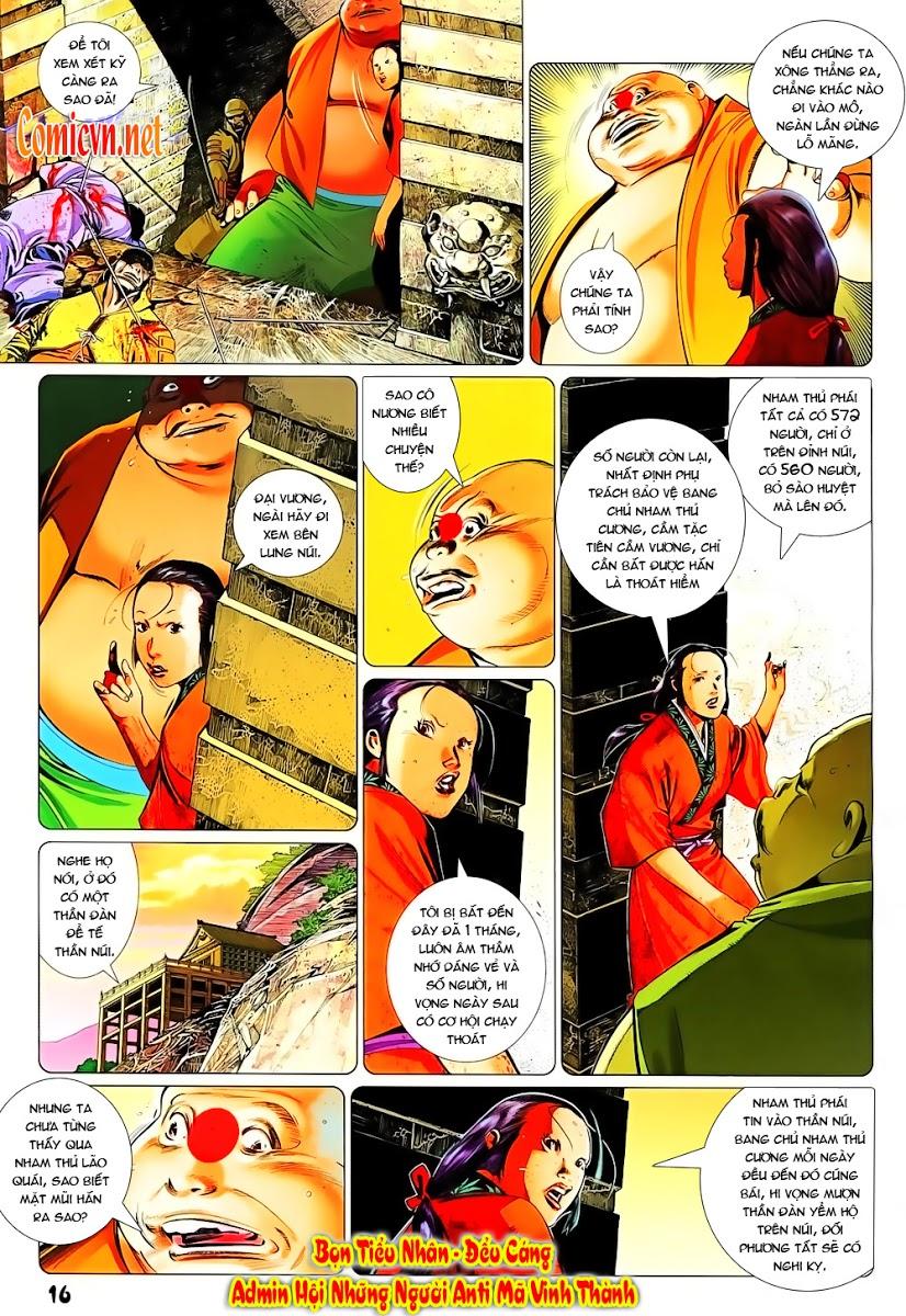 Phong Vân chap 637 Trang 16 - Mangak.info