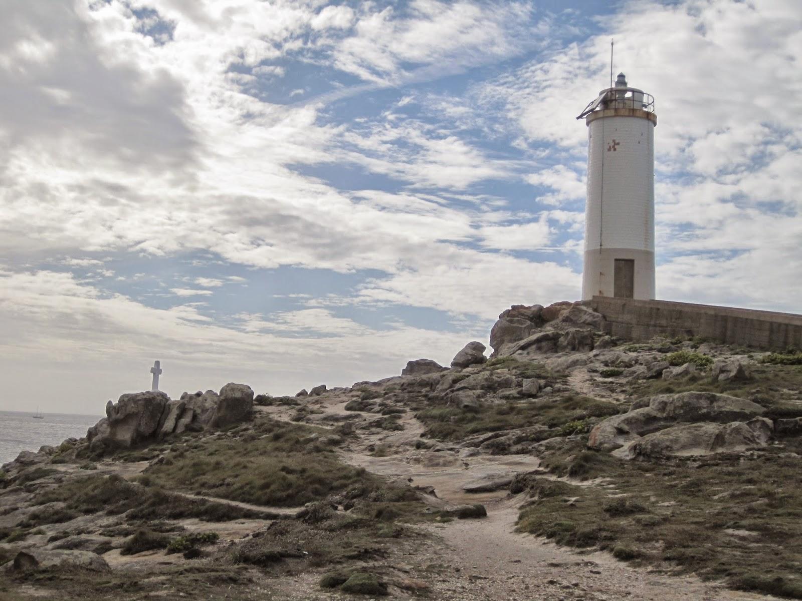 Faro de Punta Roncudo en Ponteceso
