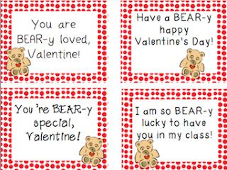 https://www.teacherspayteachers.com/Product/Bear-Themed-Valentine-Cards-for-Students-2310059