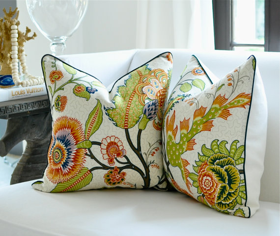 Love Pillow Case From Modern Family : Sita Montgomery Interiors: Etsy Pillow Love