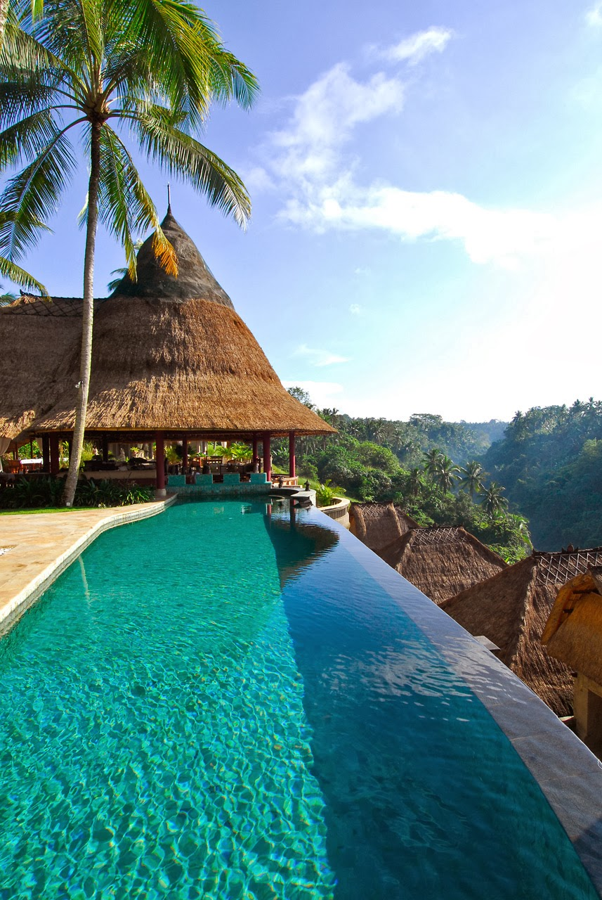 The Beautiful Viceroy Bali Hotel, Indonesia.