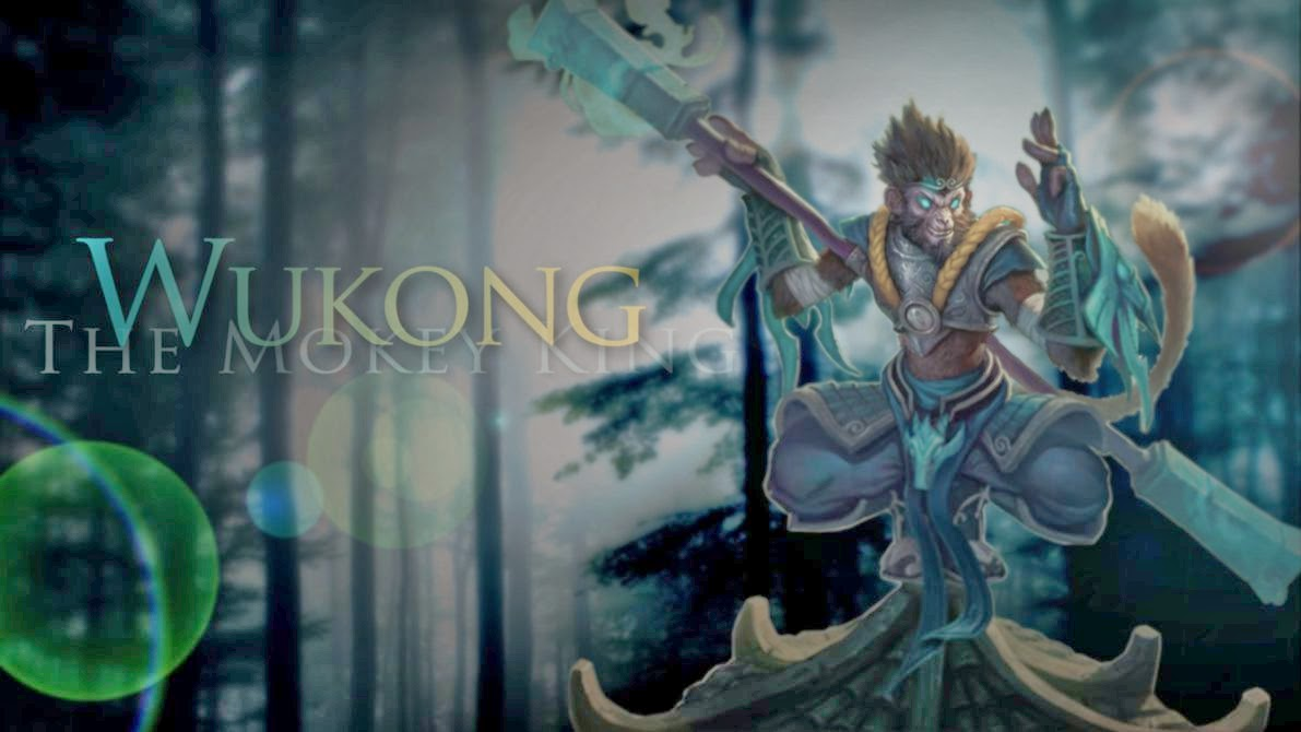Wukong League Of Legends Wallpaper Wukong Desktop Wallpaper