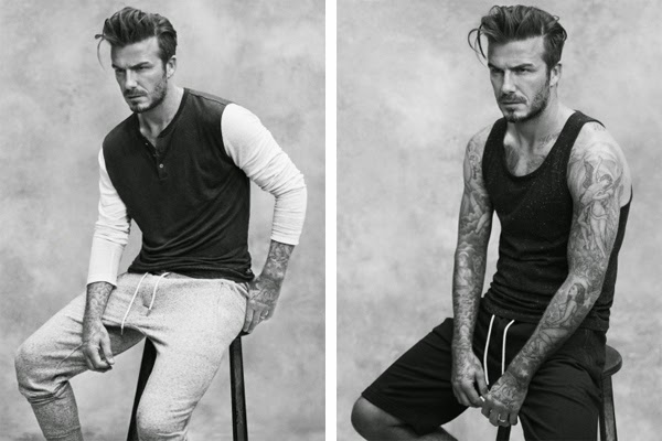 H&M David Beckham bodywear ropa interior primavera verano 2015