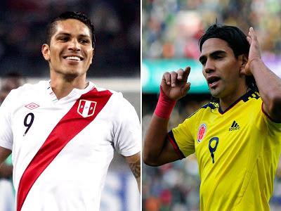 Colombia vs Peru vivo online