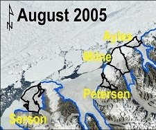 Ellesmere Island Ice Shelves August 2005.