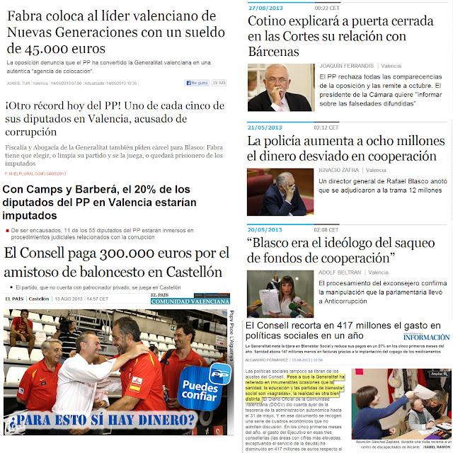 corrupción pp algueña valencia comunidad valenciana