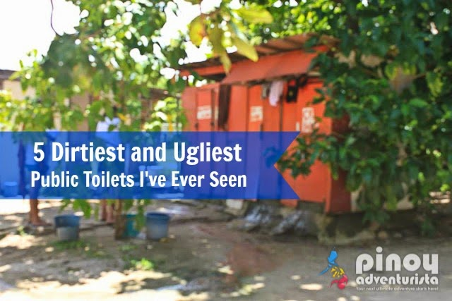 5 Dirtiest and Ugliest Public Toilets I've Ever Seen