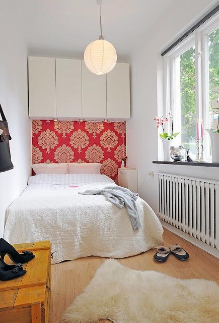 Cómo Hacer para que un Dormitorio Parezcan más Grande by artesydisenos.blogspot.com