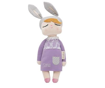 Volver Muñeca Personalizada Little Bunny Violeta