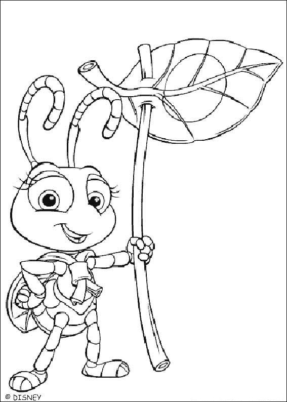 life coloring pages - fun coloring pages a bug 39 s life coloring pages