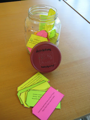With Kiddos The Library The Distraction Jar