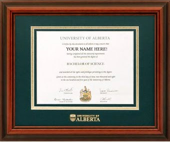 University Degree - UAlberta
