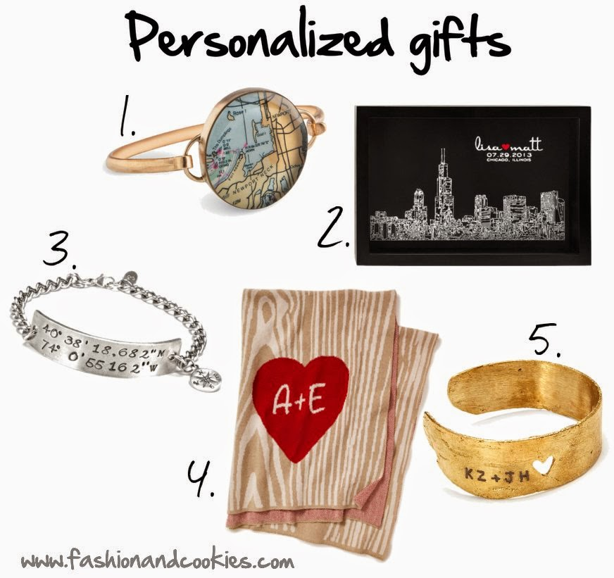 personalized gifts guide, shopping ideas, Fashion and Cookies, fashion blogger