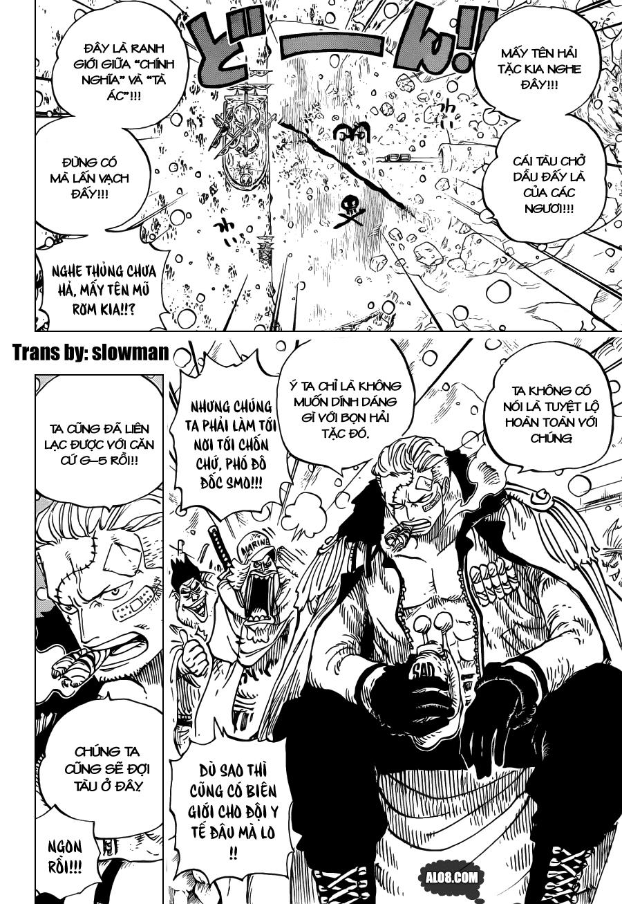 One Piece Chapter 696: Nơi lợi ích gặp gỡ 002