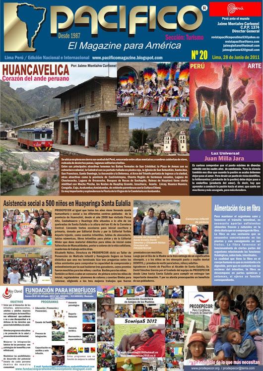 Revista Pacífico Nº 20 Turismo