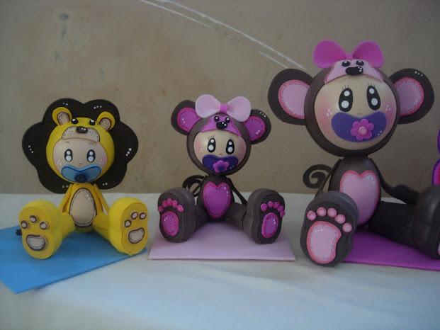 Mis Fofuchas 2013 Artfoamicol: Baby Shower 3d Fofuchas+bebes