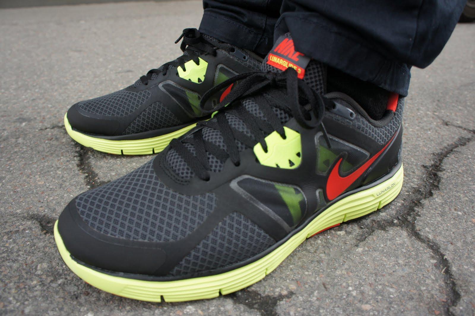 Nike Lunarglide 3 Black Six Feet Down: ...