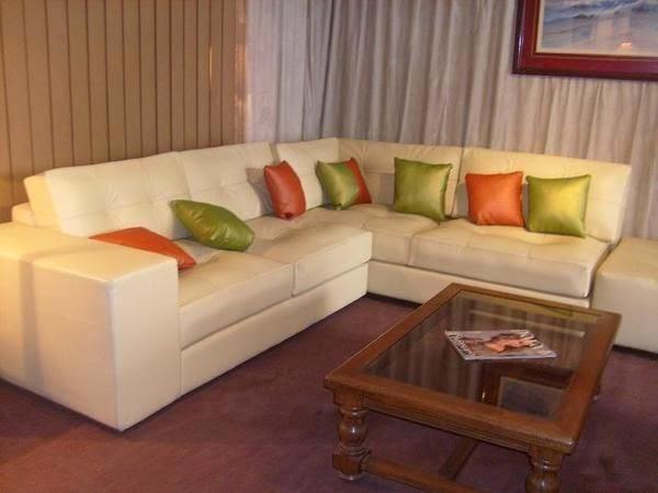 Muebles x muebles decorando con muebles de cuero for Muebles de sala de cuero