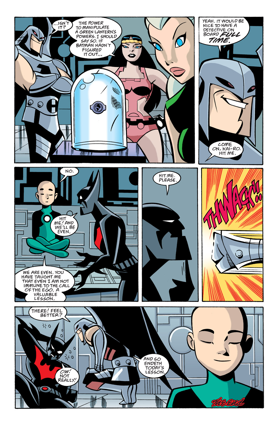 Batman Beyond [II] Issue #22 #22 - English 23