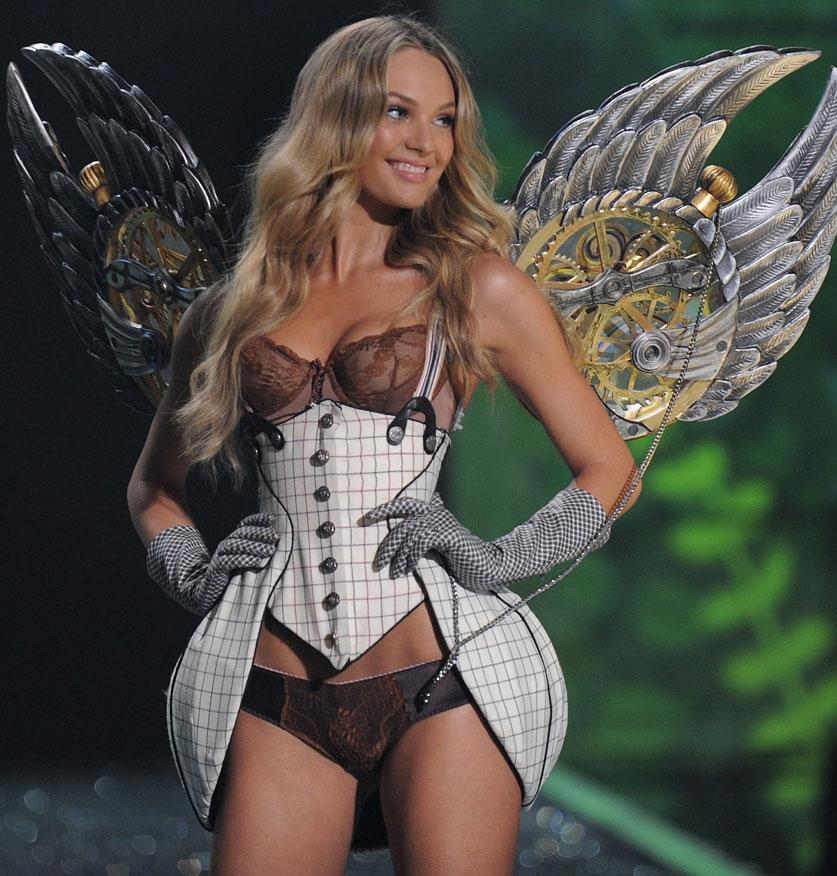 Celebrity Modeling Victoria S Secret Lingerie Fashion Show 2009