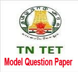 TNTET Model question Paper