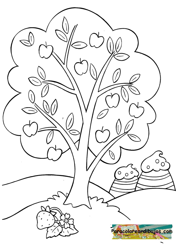 Famoso Página Para Colorear Vegetal Elaboración - Dibujos Para ...
