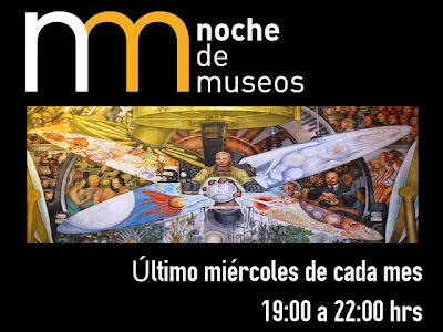 Programación completa de la noche de museos Junio 2012