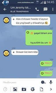 BBM Android Line Theme Versi 2.9.0.49 apk Update