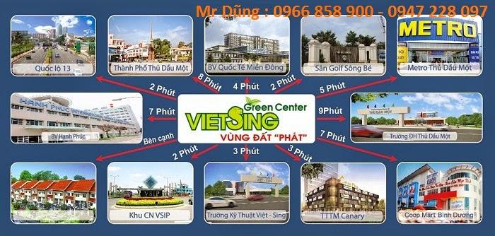 Bán đất nền dự án tại Khu đô thị Việt - Sing The Oasis ảnh 4