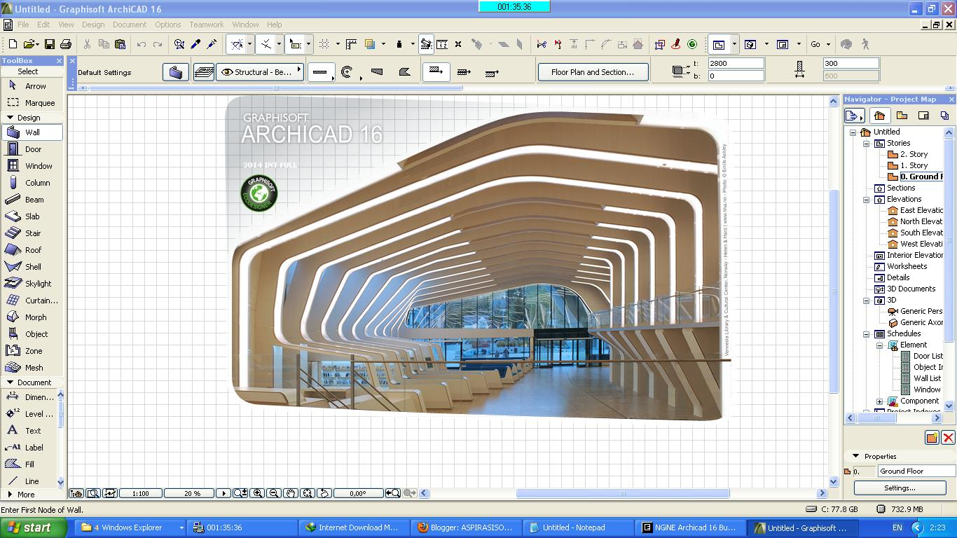 Archicad 16 crack only