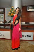 Deeksha panth sizzling saree stills-thumbnail-16