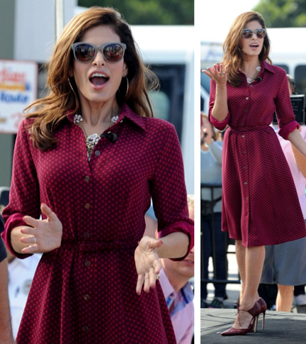 Eva mendes in eva mendes for new york and company