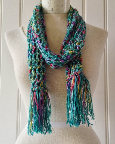 A Whole New Premier: Enchant Eversoft Scarf Free Crochet Pattern