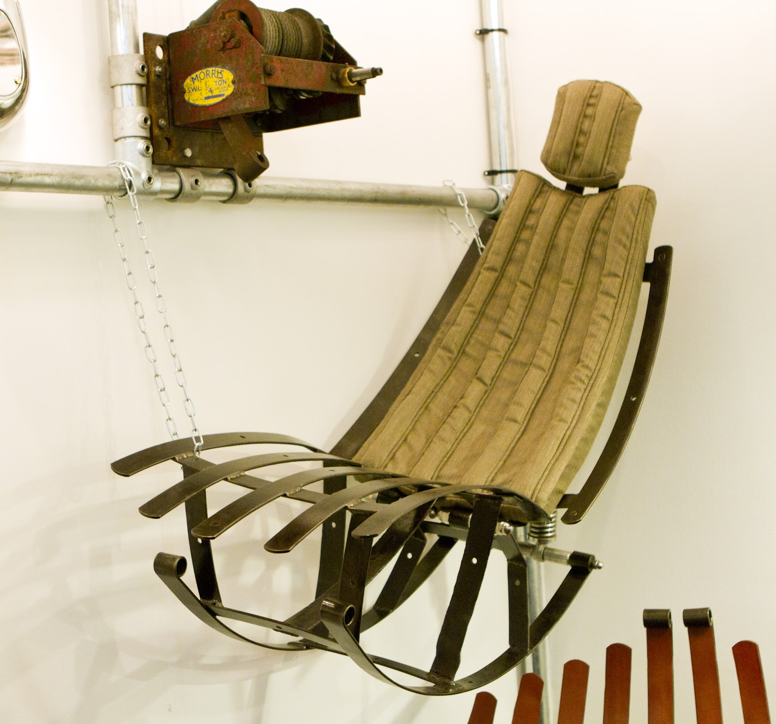 the rag and bone man LEAF SPRING CHAIRS