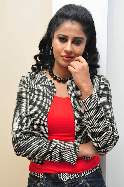 Actress Anjana Latest Photos In Red Alert Movie Audio Launch