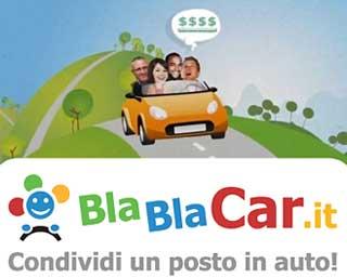 Carpooling, carsharing, autostop online, trovare un passaggio