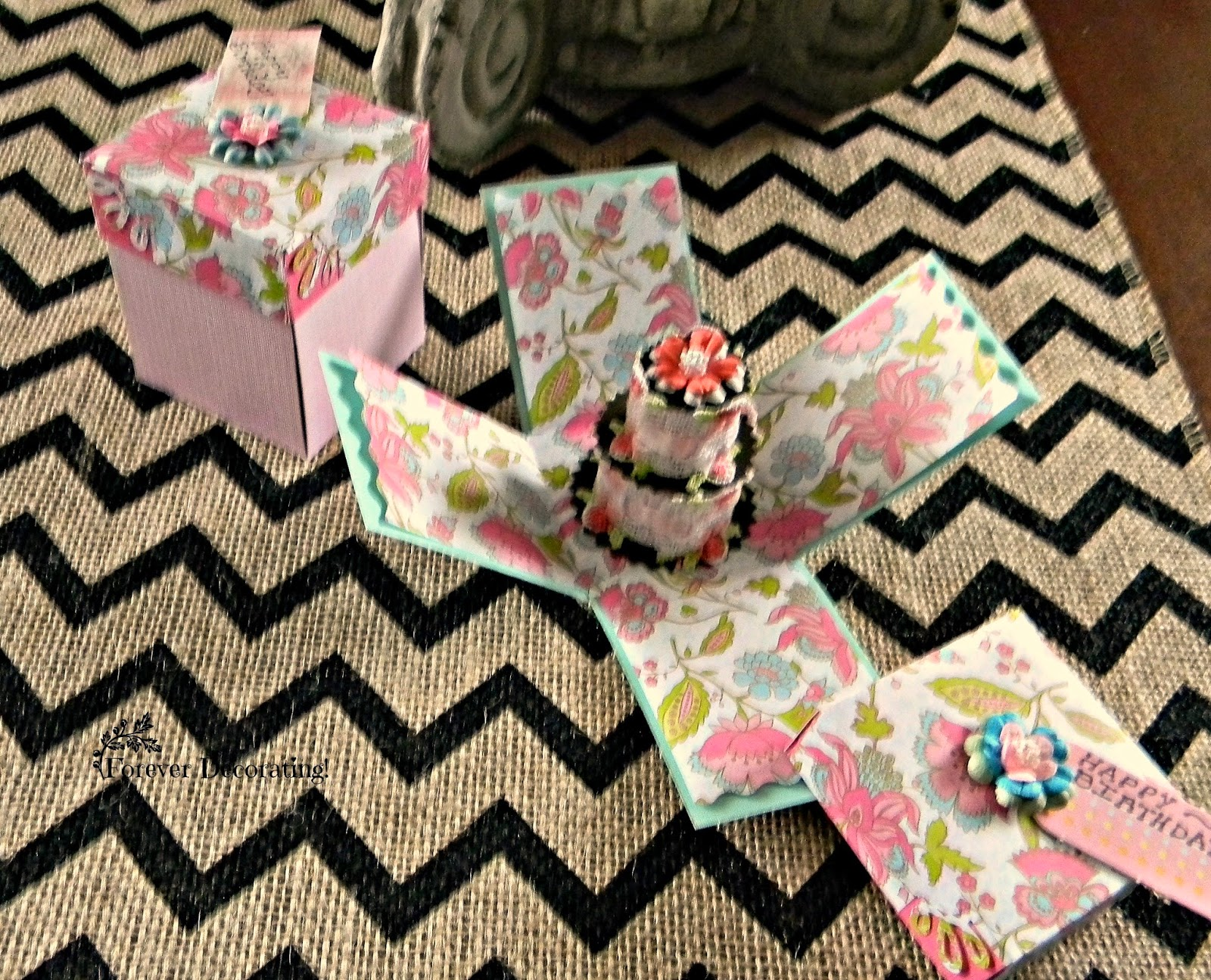 Forever Decorating Birthday Surprise Box Cards