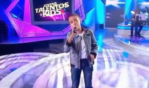 Niño evangélico impresiona con canción cristiana que interpretó en reality show