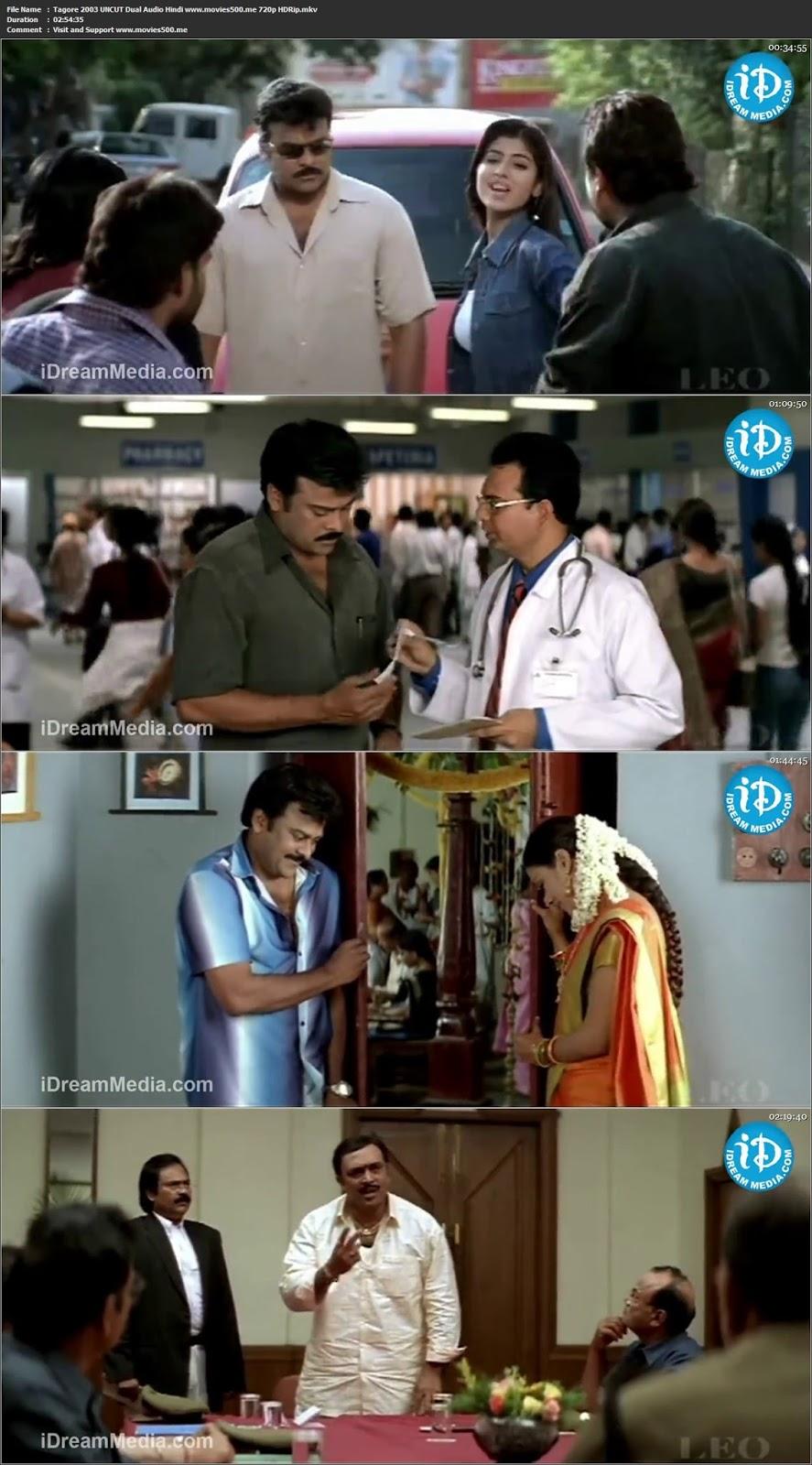 Tagore 2003 UNCUT Dual Audio Hindi Full Movie HDRip 720p at softwaresonly.com