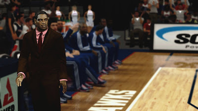 NBA 2K13 Mods Coach Larry Drew Cyberface Patch