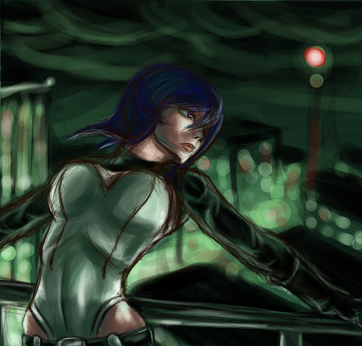 WIP: Ghost in the Shell por Raenstrife
