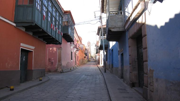 Calle Ayacucho - agosto 2010