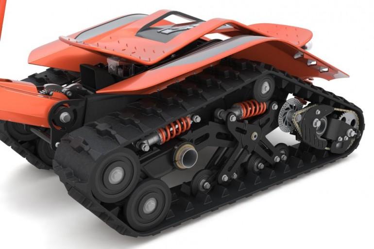 DTV Shredder, Dual Tracked Vehicle, BPG Werks, DTV Shredder price, DTV Shredder Specs, DTV Shredder overview, DTV Shredder on sale