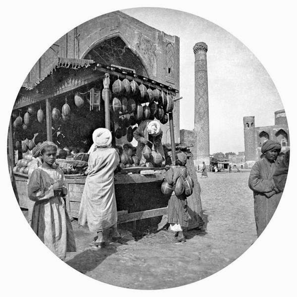 uzbekistan art tours, central asian photography, samarkand 19th century