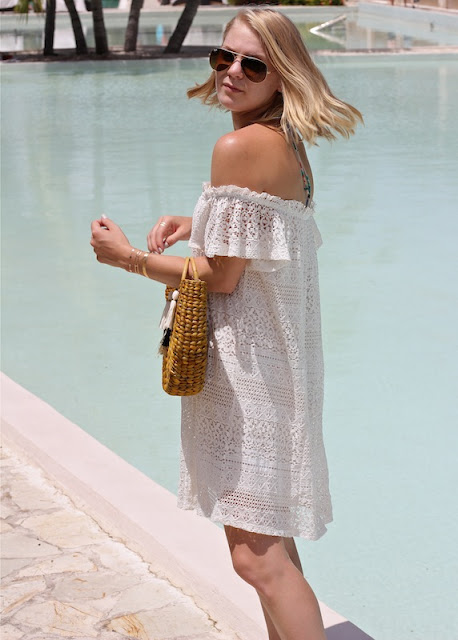 Shae Roderick, white, dress, Current Habits, style, fashion, blog