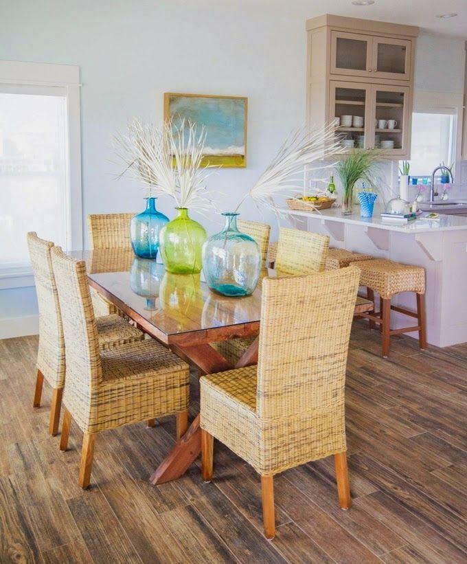 Muebles y decoraci n de interiores c mo decorar una - Decoracion casa playa ...