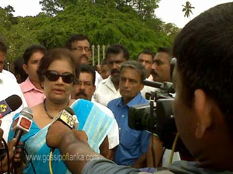 Former President Chandrika says do not panic, will finish the remaining task