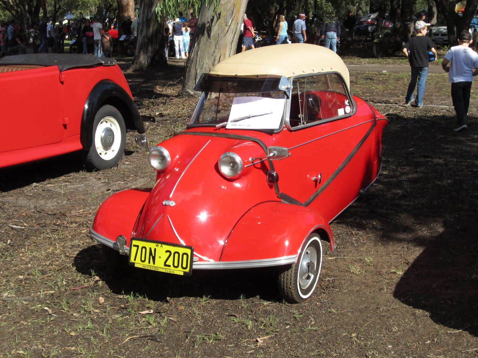 Auto-Union Project: Classic Car Show, Whiteman Park 2012