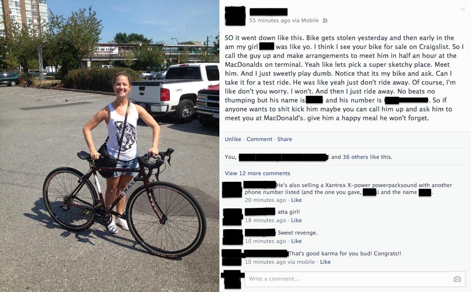 Philadelphia Bicycle Journal: Karma and the Bike Thief